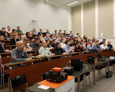 User Meeting 2018 audience