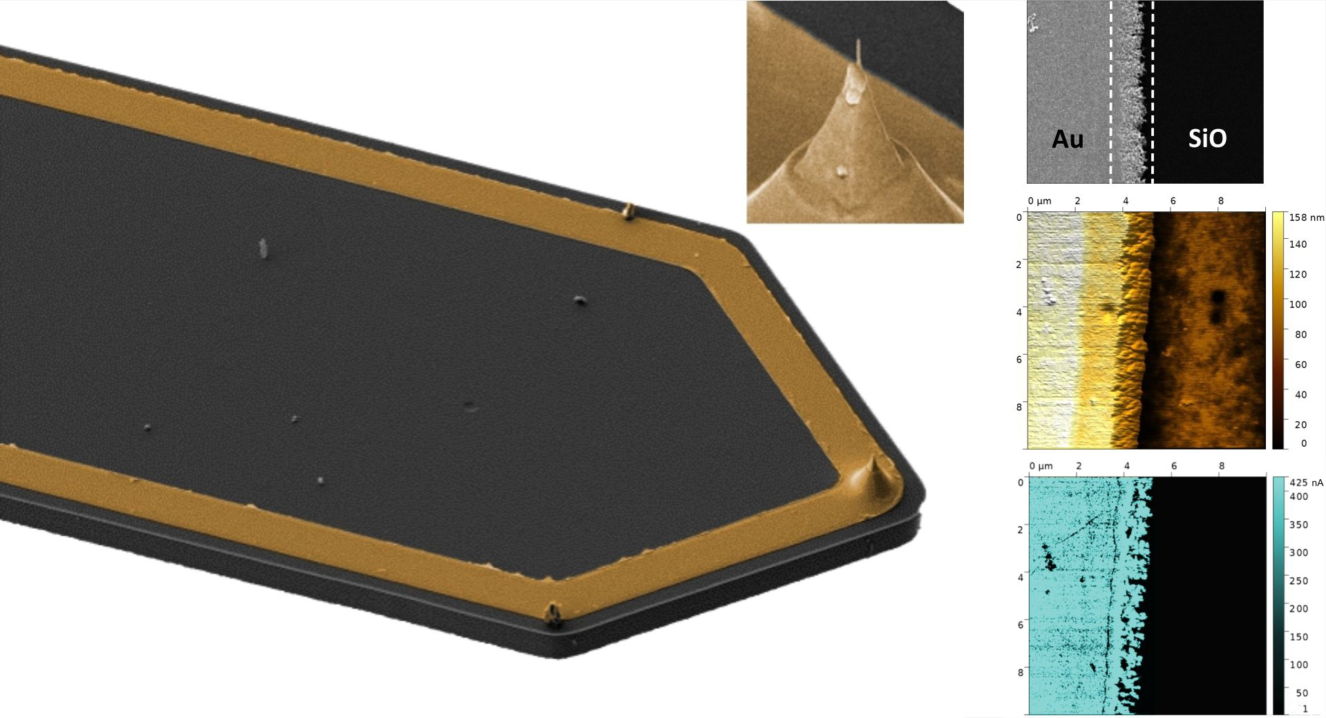 AFSEM offers a solution for conductive AFM with self-sensing cantilevers