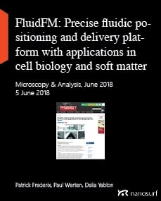 FluidFM: Precise fluidic positioning and delivery platform with applications in cell biology and soft matter