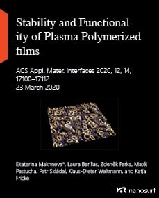 Stability and Functionality of Plasma Polymerized films