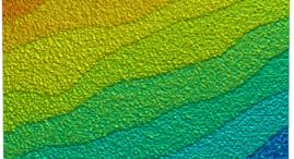 Terraces of strontium titanate (SrTiO3)
