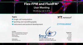 Flex-FPM and FluidFM User Meeting 2016