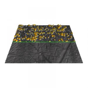 Electrochemical AFM with rod-like samples: Cu deposition on a commercial Pt electrode
