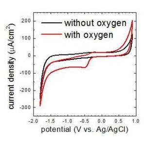 Oxygen-free EC-AFM experiments with Electrochemistry Stage ECS 204
