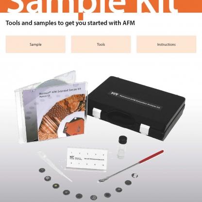 Extended AFM sample kit