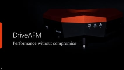 Webinar: Introducing the DriveAFM high-end atomic force microscope system