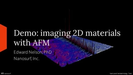 Demo: Imaging 2D Materials with the FlexAFM