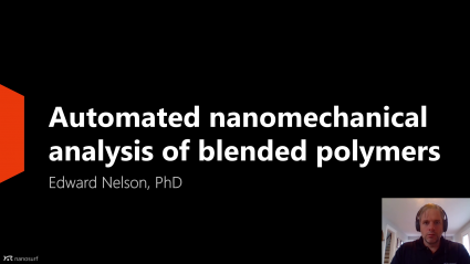 Webinar: Automated nanomechanical analysis of blended polymers