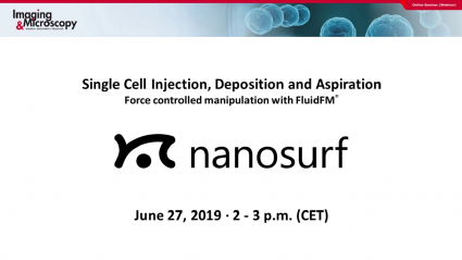Webinar: Single Cell Injection, Deposition and Aspiration