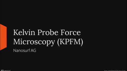Demo: KPFM with the CoreAFM
