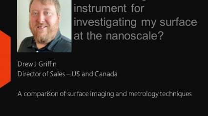What is the right instrument for investigating my surface at the nanoscale?