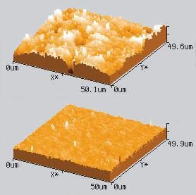 Surface Roughness of steel balls for tribological testing