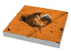 AFM topography