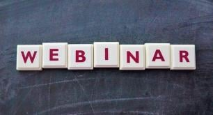 Upcoming online events: webinars and live demonstrations